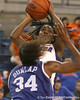 photo by Tim Casey<br /> <br /> Florida senior guard Sha Brooks shoots a jump shot during the second half of the Gators' 74-59 win against the Kentucky Wildcats on Thursday, January 29, 2009 at the Stephen C. O'Connell Center in Gainesville, Fla.