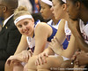 photo by Tim Casey<br /> <br /> Florida junior guard Susan Yenser smiles on the bench during the second half of the Gators' 74-59 win against the Kentucky Wildcats on Thursday, January 29, 2009 at the Stephen C. O'Connell Center in Gainesville, Fla.
