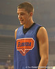"photo by Tim Casey<br /> <br /> Chandler Parsons walks off the court during ""Shooting With the Stars,"" a basketball fan appreciation event, on Friday, October 24, 2008 at the Stephen C. O'Connell Center in Gainesville, Fla."