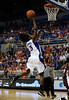 (Casey Brooke Lawson / Gator Country) UF guard Sha Brooks moves the ball past a Mississippi State player during the Gators game against the Lady Bulldogs in Gainesville, Fla., on January 8, 2009.