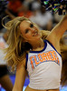 (Casey Brooke Lawson / Gator Country) UF Dazzlers perform during the Gators game against the Lady Bulldogs in Gainesville, Fla., on January 8, 2009.