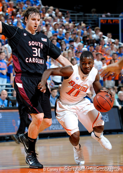 Photo Gallery: UF Men's Basketball vs. South Carolina, 1/23/10
