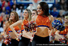 University of Florida Dazzlers dance during the Gators 64-76 loss to the Musketeers in Gainesville, Fla., on Saturday, February 13, 2010. / Gator Country photo by Casey Brooke Lawson