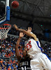 University of Florida forward Alex Tyus attempts to score over an Xavier player during the Gators 64-76 loss to the Musketeers in Gainesville, Fla., on Saturday, February 13, 2010. / Gator Country photo by Casey Brooke Lawson
