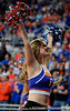 A University of Florida Dazzler performs during the Gators 64-76 loss to the Musketeers in Gainesville, Fla., on Saturday, February 13, 2010. / Gator Country photo by Casey Brooke Lawson