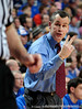 University of Florida Head Coach Billy Donovan speaks to a referee during the Gators 64-76 loss to the Musketeers in Gainesville, Fla., on Saturday, February 13, 2010. / Gator Country photo by Casey Brooke Lawson