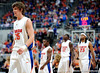 University of Florida forward Chandler Parsons walks back to the court after a time-out during the Gators 64-76 loss to the Musketeers in Gainesville, Fla., on Saturday, February 13, 2010. / Gator Country photo by Casey Brooke Lawson