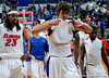 University of Florida forward Chandler Parsons, Alex Tyus and guard Irving Walker walk from the court after the Gators 64-76 loss to the Musketeers in Gainesville, Fla., on Saturday, February 13, 2010. / Gator Country photo by Casey Brooke Lawson