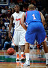 The Florida men's basketball team defeated the American University Eagles 76-60 on Monday, December 28, 2009 at the Stephen C. O'Connell Center. / Gator Country photo by Casey Brooke Lawson