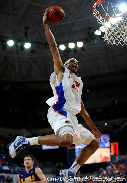 Photo Gallery: UF Men's Basketball vs. LSU, 1/16/10