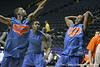 Florida sophomore guard Erving Walker attempts a shot during the Gators' preparation for the SEC Men's Basketball Tournament on Wednesday, March 10, 2010 at Bridgestone Arena in Nashville, Tenn. / Gator Country photo by Tim Casey