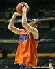 Florida sophomore guard Kyle McClanahan shoots during the Gators' preparation for the SEC Men's Basketball Tournament on Wednesday, March 10, 2010 at Bridgestone Arena in Nashville, Tenn. / Gator Country photo by Tim Casey