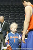 A fan collects autographs during the Gators' preparation for the SEC Men's Basketball Tournament on Wednesday, March 10, 2010 at Bridgestone Arena in Nashville, Tenn. / Gator Country photo by Tim Casey