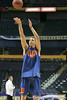 Florida junior forward Chandler Parsons shoots during the Gators' preparation for the SEC Men's Basketball Tournament on Wednesday, March 10, 2010 at Bridgestone Arena in Nashville, Tenn. / Gator Country photo by Tim Casey
