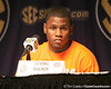 Florida sophomore guard Erving Walker talks to reporters during the Gators' preparation for the SEC Men's Basketball Tournament on Wednesday, March 10, 2010 at Bridgestone Arena in Nashville, Tenn. / Gator Country photo by Tim Casey