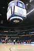 Georgia players work out during the Bulldogs' preparation for the SEC Men's Basketball Tournament on Wednesday, March 10, 2010 at Bridgestone Arena in Nashville, Tenn. / Gator Country photo by Tim Casey