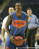 Florida freshman guard Kenny Boynton shoots for three during the Gators' preparation for the SEC Men's Basketball Tournament on Wednesday, March 10, 2010 at Bridgestone Arena in Nashville, Tenn. / Gator Country photo by Tim Casey