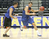 Florida junior forward Chandler Parsons works out during the Gators' preparation for the SEC Men's Basketball Tournament on Wednesday, March 10, 2010 at Bridgestone Arena in Nashville, Tenn. / Gator Country photo by Tim Casey