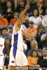 Florida junior forward Chandler Parsons signals for possession during the Gators' 69-49 win against Georgia Southern on Wednesday, November 18, 2009 at the Stephen C. O'Connell Center in Gainesville, Fla. / photo by Tim Casey