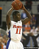 Florida sophomore guard Erving Walker looks to pass during the Gators' 69-49 win against Georgia Southern on Wednesday, November 18, 2009 at the Stephen C. O'Connell Center in Gainesville, Fla. / photo by Tim Casey
