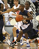 Florida sophomore guard/forward Ray Shipman defends Georgia Southern's Ben Drayton during the second half of the Gators' 69-49 win against the Eagles on Wednesday, November 18, 2009 at the Stephen C. O'Connell Center in Gainesville, Fla. / photo by Tim Casey
