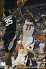 Florida sophomore guard Erving Walker gets fouled during the Gators' 69-49 win against Georgia Southern on Wednesday, November 18, 2009 at the Stephen C. O'Connell Center in Gainesville, Fla. / photo by Tim Casey