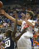 Florida junior forward Chandler Parsons passes the ball during the Gators' 69-49 win against Georgia Southern on Wednesday, November 18, 2009 at the Stephen C. O'Connell Center in Gainesville, Fla. / photo by Tim Casey