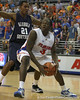 Florida sophomore guard/forward Ray Shipman goes up for a shot during the Gators' 69-49 win against Georgia Southern on Wednesday, November 18, 2009 at the Stephen C. O'Connell Center in Gainesville, Fla. / photo by Tim Casey