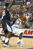 Florida freshman guard Kenny Boynton gets fouled during the Gators' 69-49 win against Georgia Southern on Wednesday, November 18, 2009 at the Stephen C. O'Connell Center in Gainesville, Fla. / photo by Tim Casey