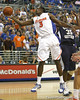 Florida sophomore guard/forward Ray Shipman reaches for a rebound during the Gators' 69-49 win against Georgia Southern on Wednesday, November 18, 2009 at the Stephen C. O'Connell Center in Gainesville, Fla. / photo by Tim Casey