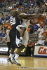 Florida freshman guard Kenny Boynton goes up for a shot during the Gators' 69-49 win against Georgia Southern on Wednesday, November 18, 2009 at the Stephen C. O'Connell Center in Gainesville, Fla. / photo by Tim Casey
