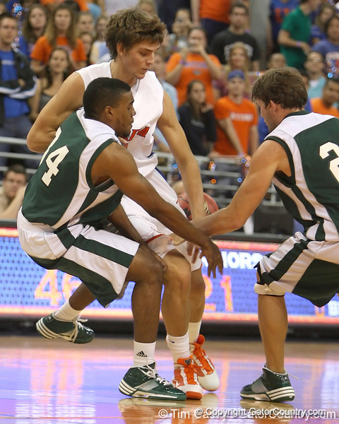during the Gators' 104-53 win against the Webber Warriors on Monday, November 9, 2009 at the Stephen C. O'Connell Center in Gainesville, Fla. / Gator Country photo by Tim Casey
