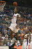 Florida sophomore guard/forward Ray Shipman slams in two points during the Gators' 104-53 win against the Webber Warriors on Monday, November 9, 2009 at the Stephen C. O'Connell Center in Gainesville, Fla. / Gator Country photo by Tim Casey