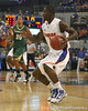 Florida freshman guard Kenny Boynton makes a move during the Gators' 95-46 exhibition game win against the St. Leo Lions on Monday, November 2, 2009 at the Stephen C. O'Connell Center in Gainesville, Fla. / Gator Country photo by Tim Casey