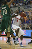 Florida freshman guard Kenny Boynton goes up for a shot during the Gators' 95-46 exhibition game win against the St. Leo Lions on Monday, November 2, 2009 at the Stephen C. O'Connell Center in Gainesville, Fla. / Gator Country photo by Tim Casey
