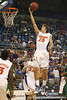 Florida junior forward Chandler Parsons lays in two points during the Gators' 95-46 exhibition game win against the St. Leo Lions on Monday, November 2, 2009 at the Stephen C. O'Connell Center in Gainesville, Fla. / Gator Country photo by Tim Casey