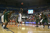 Florida sophomore guard/forward Ray Shipman shoots a free throw during the Gators' 95-46 exhibition game win against the St. Leo Lions on Monday, November 2, 2009 at the Stephen C. O'Connell Center in Gainesville, Fla. / Gator Country photo by Tim Casey