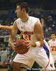 Florida senior forward Dan Werner looks to pass during the Gators' 95-46 exhibition game win against the St. Leo Lions on Monday, November 2, 2009 at the Stephen C. O'Connell Center in Gainesville, Fla. / Gator Country photo by Tim Casey