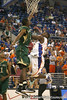 Florida sophomore guard Erving Walker goes up for a layup during the Gators' 95-46 exhibition game win against the St. Leo Lions on Monday, November 2, 2009 at the Stephen C. O'Connell Center in Gainesville, Fla. / Gator Country photo by Tim Casey
