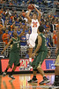 Florida junior forward Chandler Parsons shoots for three during the Gators' 95-46 exhibition game win against the St. Leo Lions on Monday, November 2, 2009 at the Stephen C. O'Connell Center in Gainesville, Fla. / Gator Country photo by Tim Casey