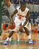 Florida sophomore guard/forward Ray Shipman looks to pass during the Gators' 95-46 exhibition game win against the St. Leo Lions on Monday, November 2, 2009 at the Stephen C. O'Connell Center in Gainesville, Fla. / Gator Country photo by Tim Casey