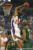 Florida junior forward Alex Tyus slams in two points during the Gators' 95-46 exhibition game win against the St. Leo Lions on Monday, November 2, 2009 at the Stephen C. O'Connell Center in Gainesville, Fla. / Gator Country photo by Tim Casey