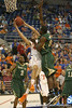 Florida freshman guard Rod Tishman goes up for a shot during the Gators' 95-46 exhibition game win against the St. Leo Lions on Monday, November 2, 2009 at the Stephen C. O'Connell Center in Gainesville, Fla. / Gator Country photo by Tim Casey