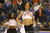 The Dazzlers perform during halftime of the Gators' 95-46 exhibition game win against the St. Leo Lions on Monday, November 2, 2009 at the Stephen C. O'Connell Center in Gainesville, Fla. / Gator Country photo by Tim Casey