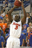 Florida sophomore guard/forward Ray Shipman shoots for three during the Gators' 95-46 exhibition game win against the St. Leo Lions on Monday, November 2, 2009 at the Stephen C. O'Connell Center in Gainesville, Fla. / Gator Country photo by Tim Casey