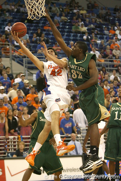 Photo Gallery: UF Men's Basketball vs. St. Leo, 11/2/09