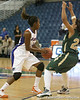 Florida redshirt-sophomore forward Ndidi Madu makes a move during the Gators' 75-39 win against the UAB Blazers on Tuesday, November 24, 2009 at the Stephen C. O'Connell Center in Gainesville, Fla. / photo by Tim Casey