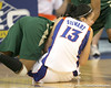 Florida sophomore center Azania Stewart fights for a loose ball during the Gators' 75-39 win against the UAB Blazers on Tuesday, November 24, 2009 at the Stephen C. O'Connell Center in Gainesville, Fla. / photo by Tim Casey