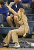 Florida head coach Amanda Butler signals in a play during the Gators' 75-39 win against the UAB Blazers on Tuesday, November 24, 2009 at the Stephen C. O'Connell Center in Gainesville, Fla. / photo by Tim Casey