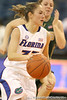 Florida redshirt-sophomore Jordan Jones leads a fast break during the Gators' 75-39 win against the UAB Blazers on Tuesday, November 24, 2009 at the Stephen C. O'Connell Center in Gainesville, Fla. / photo by Tim Casey